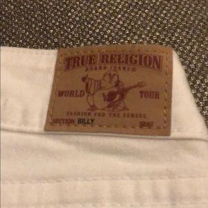 True religion billy white jeans